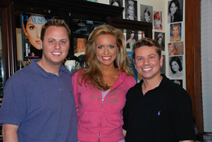 Miss Tennessee USA and Joey Rehterford